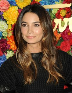 Fall's Matte Makeup Trend on Victoria's Secret Model Lily Aldridge: Girls in the Beauty Department: glamour.com