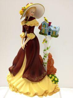 Thomas Kinkade Lady Figurines | click to enlarge