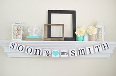 Bridal Shower Decorations Bridal Shower Banners by ABannerAffair