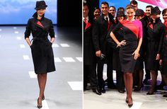 Wow, these new Qantas Airline Uniforms are super stylish - modelled by Miranda Kerr!!! Certainly some cool office-look inspiration!!!!