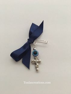Excited to share this item from my shop: Martyrika Pins/Greek Baptism Martyrika/Lapel Pins/Christening Witness Pins/Boy Baptism/Greek Orthodox Baptism Martyrika/Blue Martyrika Boy Baptism, Christening, Greek Wedding, Baby Shower Favors, Lapel Pins, Etsy Shop, Personalized Items, Silver, Handmade