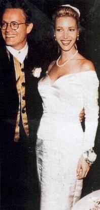 Lisa Kudrow & Michel Stern.-1995 wedding