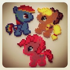 My Little Pony hama perler beads by bostrup