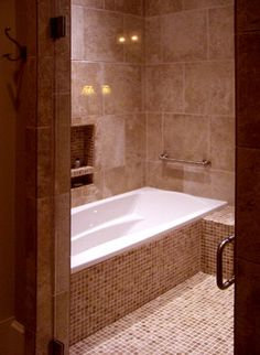 enclosed shower tub combo pic 1