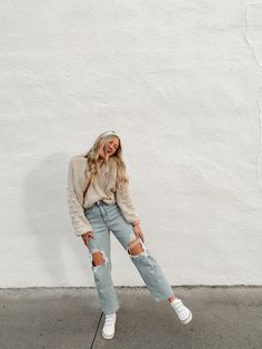 Casual School Outfits, Cute Comfy Outfits, Teen Fashion Outfits, Simple Outfits, New Outfits, Stylish Outfits, Cool Outfits, Look Zara, Beauty And Fashion