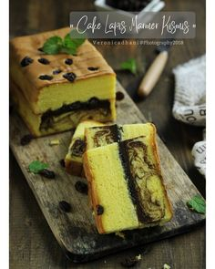 Image may contain: food and text Pastry Recipes, Cake Recipes, Quiche Recipes, Marbel Cake, Bolu Cake, Resep Cake, Chiffon Cake, Asian Desserts, Velvet Cake
