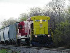 AOK B23-7 4062   Description:    Photo Date:  3/23/2012  Location:  Midwest City, OK   Author:  Kent Held  Categories:    Locomotives:  AOK 4062(B23-7)