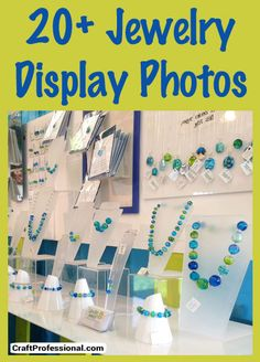 Lots of Jewelry Display Ideas and Photos