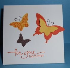 New Bitty Butterfly Punch by gails - Cards and Paper Crafts at Splitcoaststampers