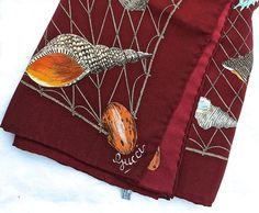 Sale Gucci silk scarf Pristine vintage silk by TwoSwansSwimming