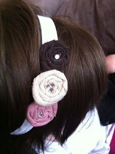 Rolled headband tutorial!!!