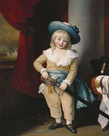 Prince Octavius (1779 - 1783). Son of King George III and Queen Charlotte. He died young.