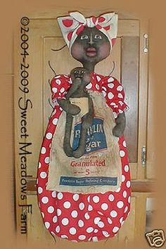 Bagholder doll