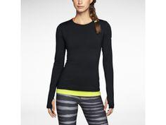 Γυναικεία μπλούζα προπόνησης Nike Pro Hyperwarm Crew 3.0