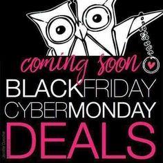 Origami Owl Black Friday deals week starts tomorrow!!!