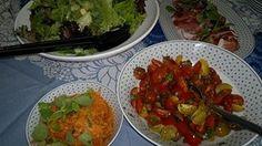 Vegetable dishes. Home dinner. Helsinki.