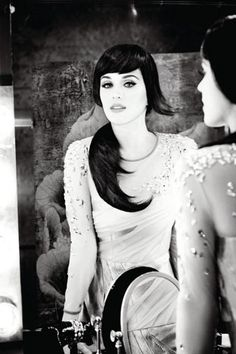 Katy Perry is black-and-white glam for British brand GHD's new ad campaign