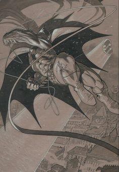 Batman by Adam Kubert