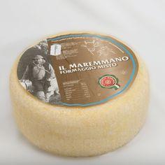 Maremma mixta queso de pasta dura queso de oveja mixta / vaca con condimentos 60/90 días de curado Italia