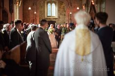 Groom gets his first look at his bride to be at Lulworth Estate wedding in Dorset #firstlook #churchwedding #dorsetwedding
