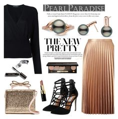"""""""Exquisite Collection"""" by pearlparadise ❤ liked on Polyvore featuring Miss Selfridge, Dolce&Gabbana, Steve Madden, RED Valentino and Bobbi Brown Cosmetics"""