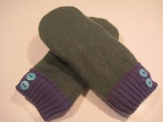 East Jordan Cashmere Mittens  med/lg  MMC417 by MichMittensbyLauri, $28.00