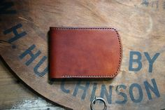 Journeyman Bi Fold — Wright and Rede Vegetable Tanned Leather, Gifts, Gift Ideas, Shop, Presents, Favors, Gift, Store