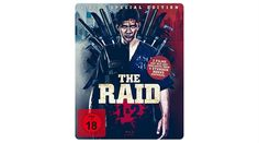 [Angebot]  The Raid 1 & 2 Steelbook Edition (exklusiv bei Amazon.de 2 Blu-rays  2 Bonus DVDs) [Limited Edition] für 1597