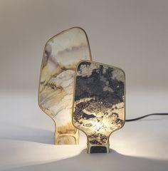 Lamp by Dimitri Hlinka