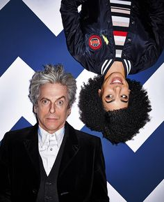 The latest Doctor Who cover shoot I've art directed for Radio Times – the Doctor turns Bill's world upside down. Pictures by Richard Grassie, in shops now.