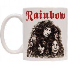 Rainbow Long Live Rock N Roll Coffee Mug