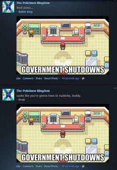 Government shutdown.