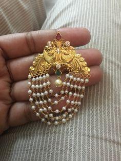 Gold Jhumka Earrings, Jewelry Design Earrings, Gold Earrings Designs, Gold Jewellery Design, Bead Jewellery, Gold Jewelry, Silver Jewellery Indian, Jewelry Patterns, Making Ideas