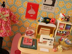 Blythe sewing room