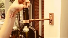 Make 3 simple and elegant DIY outdoor lighting projects using recycled wine bottles.