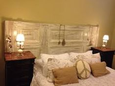 Resultado de imagen para respaldo de cama artesanal