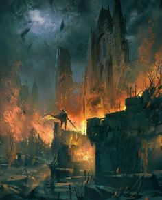 Burning citadel