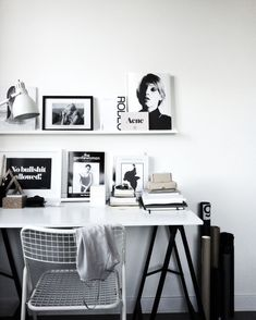 black + white | office space, desk, chair, home inspiration, house, living space, room, scandinavian, nordic, inviting, style, comfy, minimalist, minimalism, minimal, simplistic, simple, modern, contemporary, classic, classy, chic, girly, fun, clean aesthetic, bright, white, pursue pretty, style, neutral color palette, inspiration, inspirational, diy ideas, fresh, stylish, 2018, sophisticated