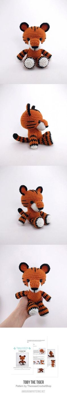 Toby The Tiger Amigurumi Pattern
