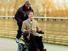 Intouchables (Olivier Nakache & Eric Toledano - 2011)  #cinema #movie #film #intouchables #frenchcinema #france #friends #friendship #philippe #driss #françoiscluzet #omarsy #fun #help by feastofframes