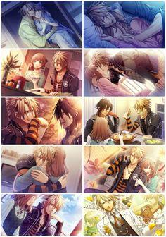 Amnesia Later CG Gallery -Toma and Shin Anime Love, Anime Guys, Manga Anime, Anime Art, Toma Amnesia, Amnesia Memories, Ao Haru, Shall We Date, Romance