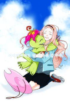 Mimi Tachikawa and Palmon #DigimonTri