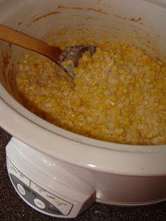 Cream Cheese Creamed Corn (for Thanksgiving); Matt loves this