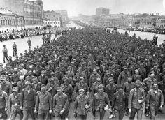 German POWs captured by Soviets during Operation Bagration, 1944 (i.imgur.com)