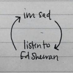 Ed Sheeran / sad / Ed Sheeran
