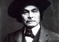 """Chitto Harjo aka Crazy Snake.Muscogee Creek. 1898-1909 Led a group opposed  to allotment of Creek Land """"Snake Rebellion"""""""
