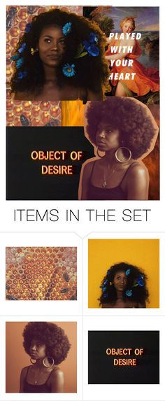 """untitled black girl magic"" by hmnikayla ❤ liked on Polyvore featuring art"