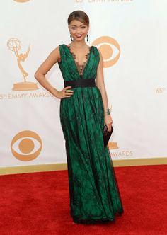Emmy Awards 2013. Red Carpet. Alfombra Roja Sarah Hyland
