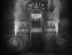 """The movie """"Metropolis"""", directed by Fritz Lang, the novel written by Thea von Harbou. Seen here, a general view of Metropolis. Metropolis Fritz Lang, Metropolis 1927, Tv Movie, Sci Fi Movies, Horror Movies, Allen Ginsberg, Dark City, Gifs, Chef D Oeuvre"""