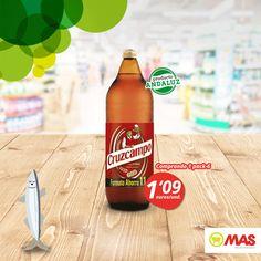¡En el Mes de Andalucía, no te pierdas esta oferta! Si te llevas un pack de 6 Cruzcampo de 1,10L, te sale el litro a 0,99€! (1,09€/unidad)